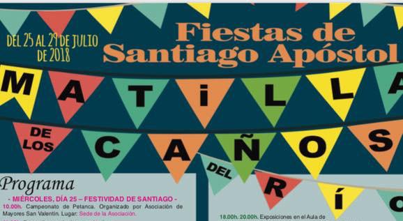 Programa de Fiestas de Santiago Apóstol